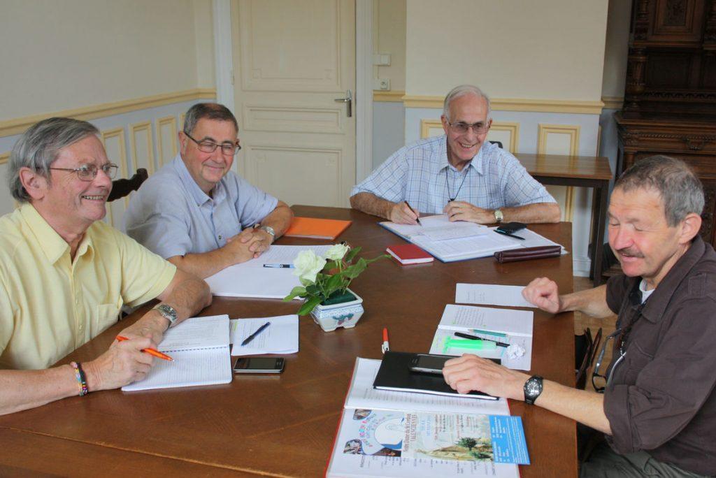 Equipe des Fils de la charité à Valenciennes en 2014