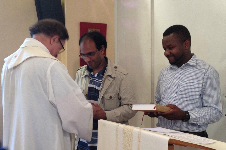 Ministères institués d'Etienne de Souza fc et Gilbert Julien fc 9 juin 2016