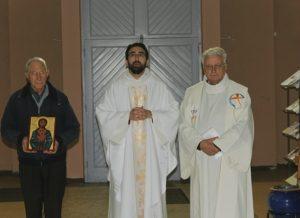Fête du Sacré-Cœur à la chapelle-Saint-Luc le 3 juin 2016 autour d'une icone