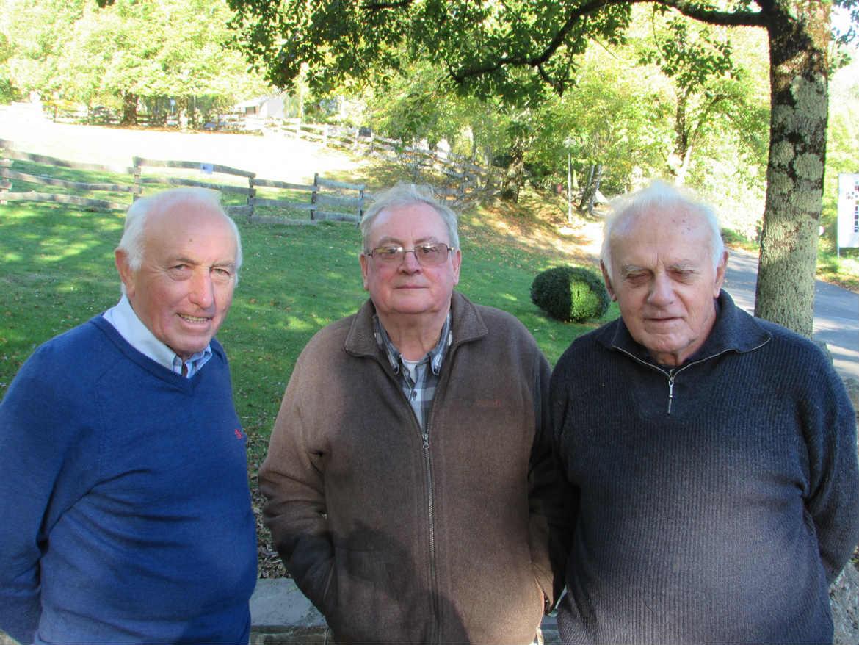 Equipe de Lourdes avec Eric Récopé fc, Gérard Simon fc et Roger Mimiague fc