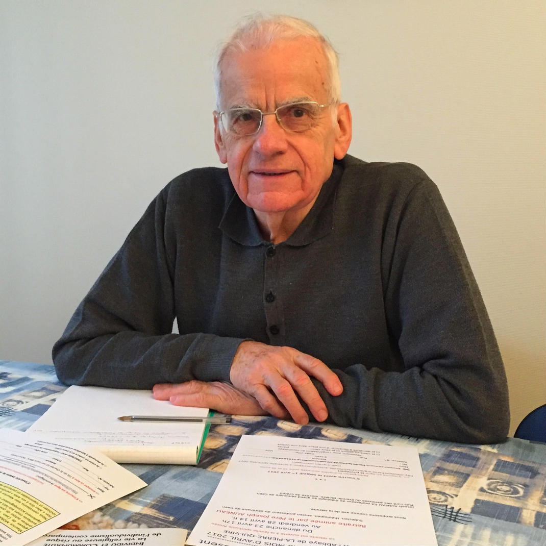 père Joseph Auneau, Sulpicien, bibliste, ancien professeur du séminaire de Caen et d'Issy-les-Moulineaux