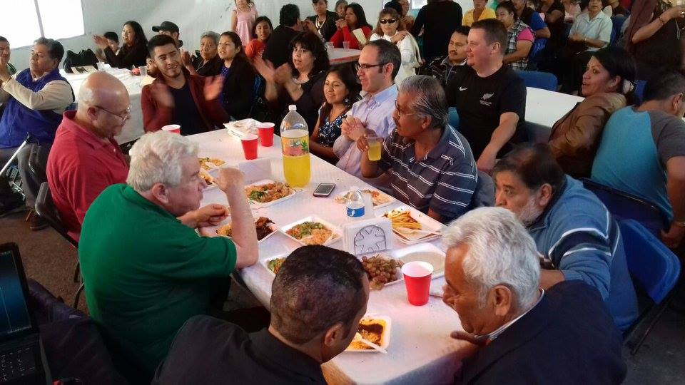 50 ans d'ordination de sacerdoce de Bernardo Claireau fc juin 2016