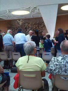 Pèlerinage des précaires à Rome avec la Fraternité de la Pierre d'angle juillet 2016