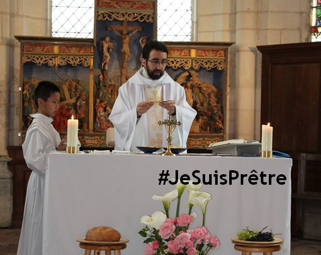 #JeSuisPrêtre de Jésus-Christ