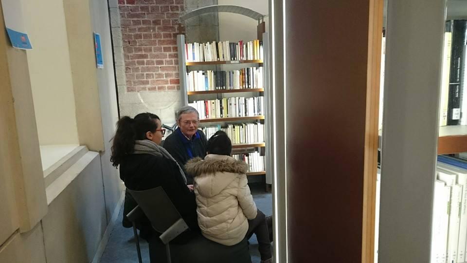 """""""Livre vivant"""" à Valenciennes juin 2016 avec René Lelièvre fc"""