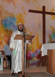Messe avec les musulmans en mémoire du p Hamel, 31 juillet 2016, Bourges
