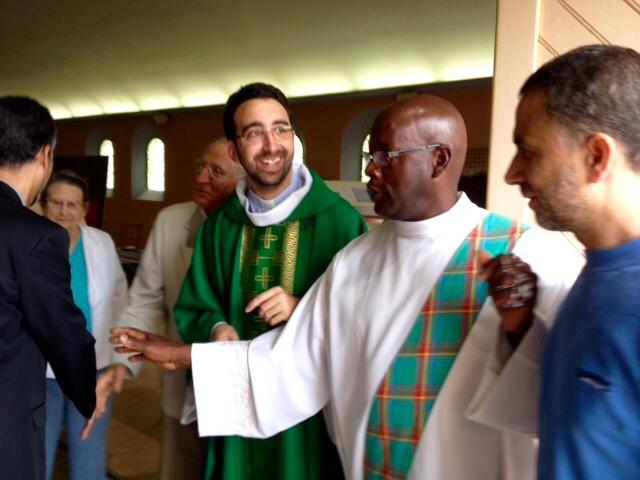 Messe avec les musulmans en mémoire du p Hamel, 31 juillet 2016, La Chapelle