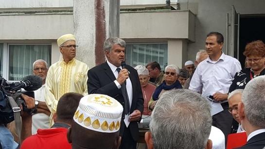 Messe avec les musulmans en mémoire du p Hamel, 31 juillet 2016, La Rochelle