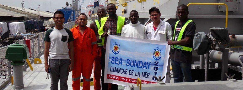 """""""Dimanche de la mer"""" 2016, à Abidjan"""