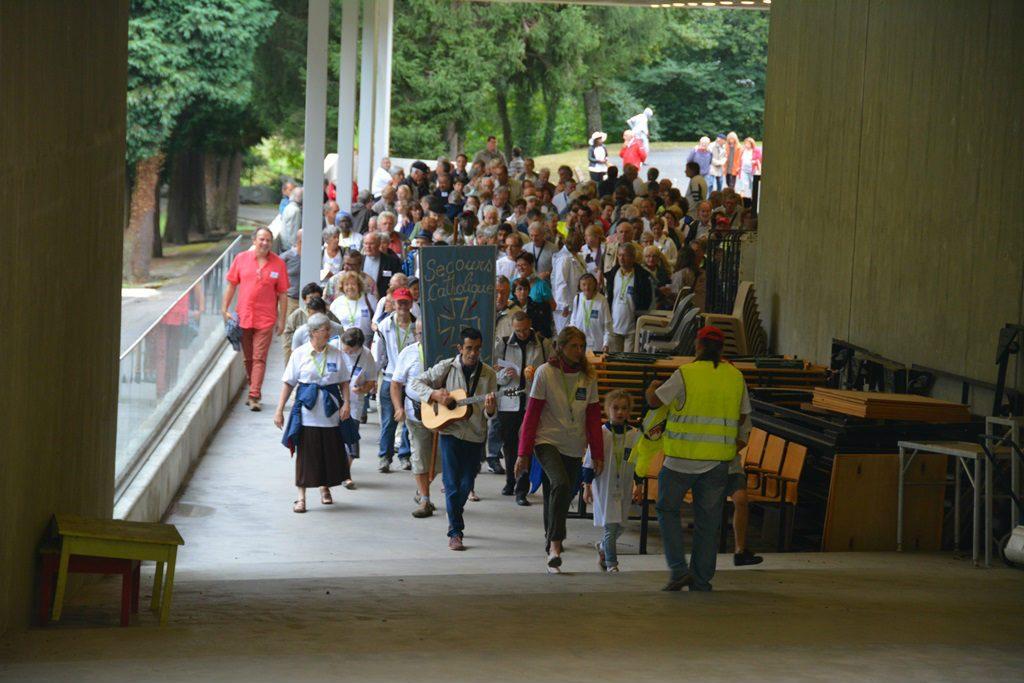 70ème anniversaire du Secours Catholique à Lourdes ce 8 septembre 2016