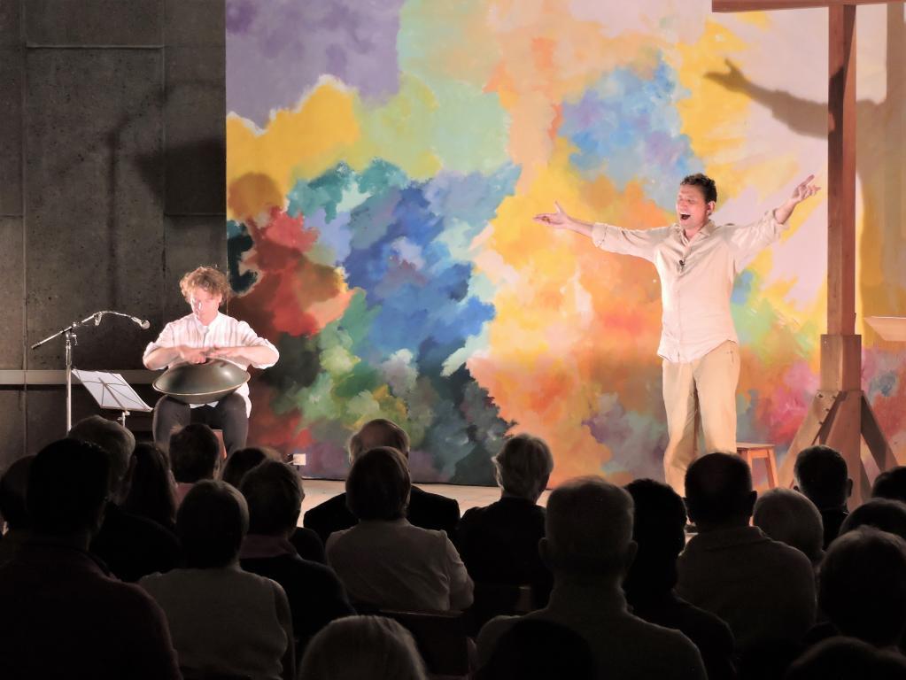 Spectacle Charles de Foucauld à Bourges de Christian Birdet, 21 septembre 2016