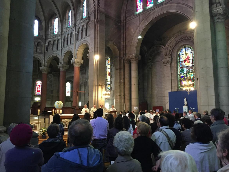 Voeux perpétuels d'Etienne de Souza fc et Gilbert Julien fc à Saint-Ouen le 17 septembre 2016