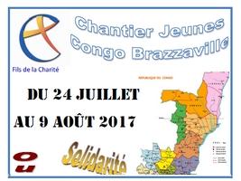 Chantier jeunes été 2017 au Congo Brazzaville avec les Fils de la Charité