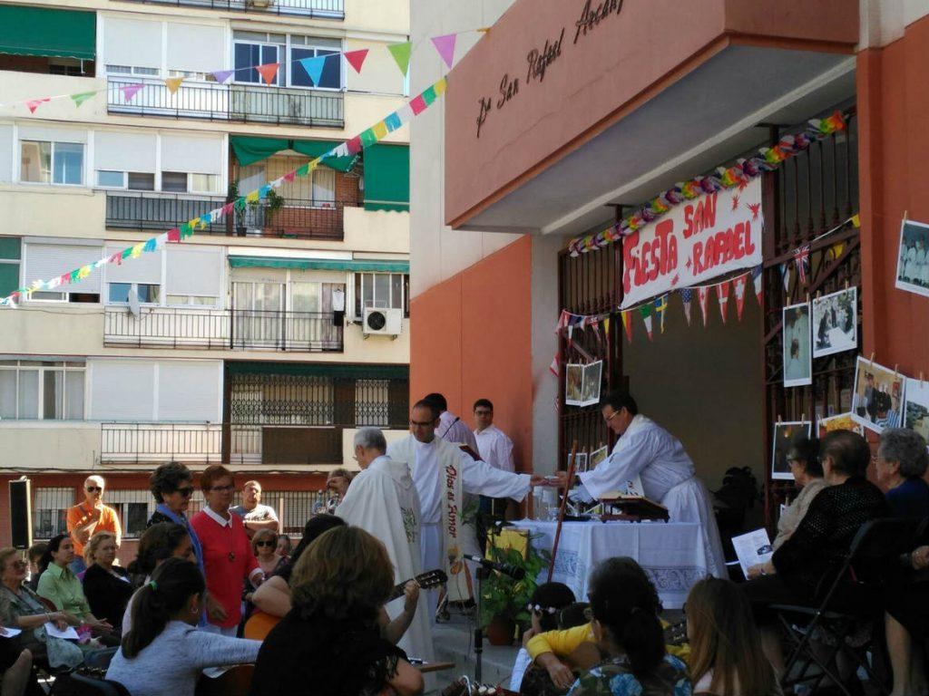 José Miguel Sopeña, fête de Saint-Raphaël, 29 septembre 2016, à Getafe, Espagne