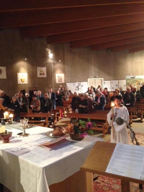 Messe du Centenaire de la mort de Charles de Foucault le 13 novembre 2016 à Bourges