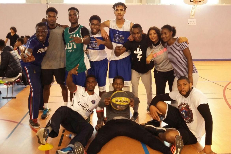 Tournoi Diocésain de basket dans le 93, le 11 novembre 2016, à Bondy