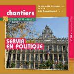 Couverture de la revue chantiers décembre 2016 : servir en politique
