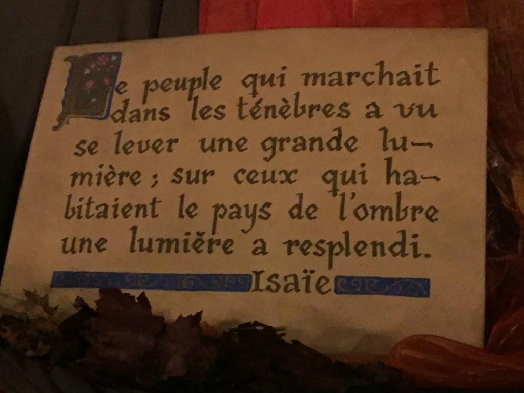 Devant la crèche 2016 à Saint-Sulpice à Paris
