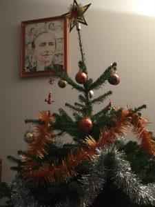 Sapin de Noël 2016 à la Maison générale des Fils de la Charité