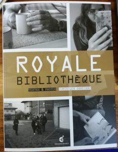 Témoignage de René Lelièvre fc dans le livre « Royale bibliothèque, textes et photos », de Dominique Samiero, Editions Invenit, 2016