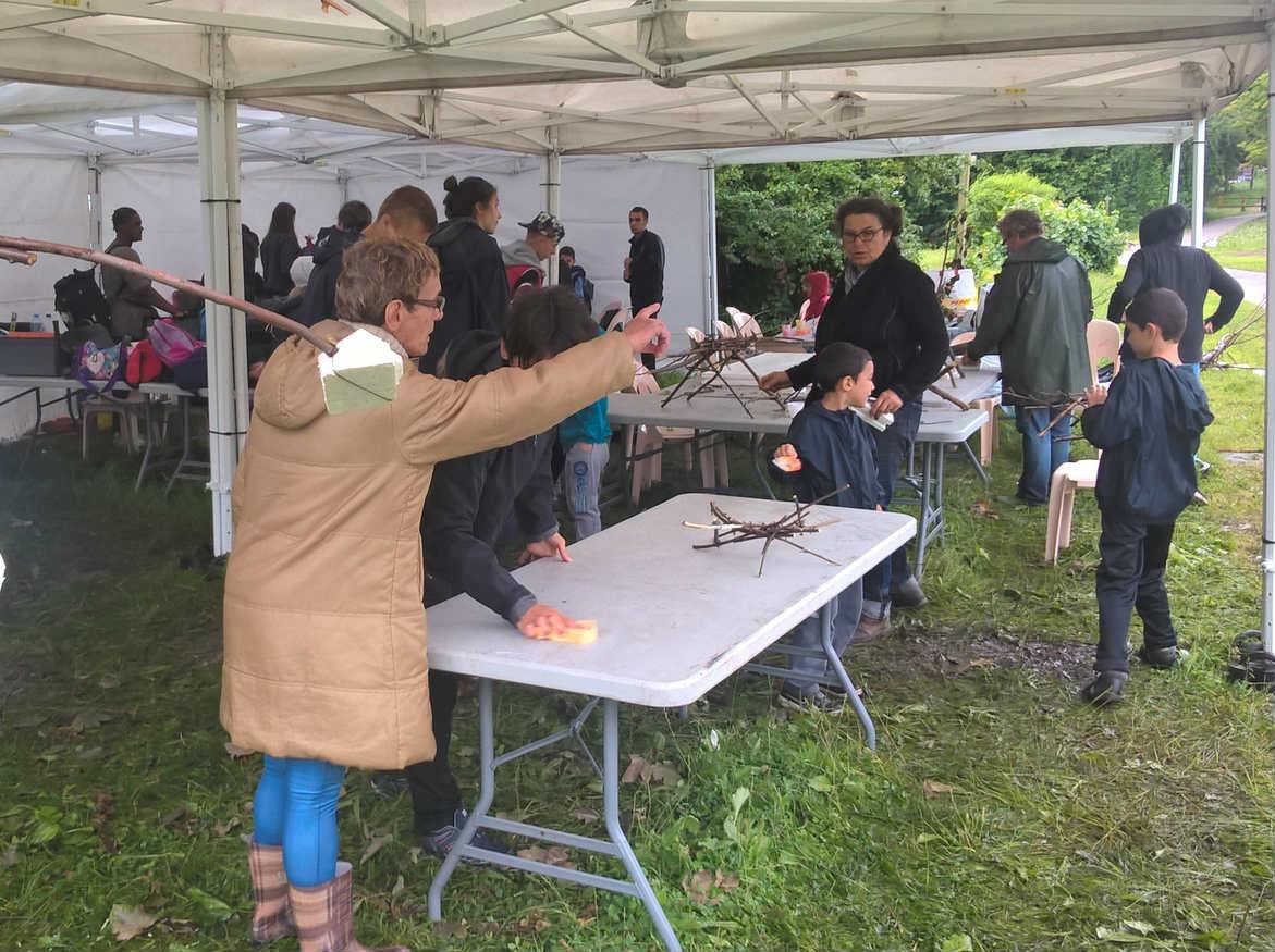 A La Chasse Royale, les activités orchestrées par le Centre socio-culturel Georges Dehove