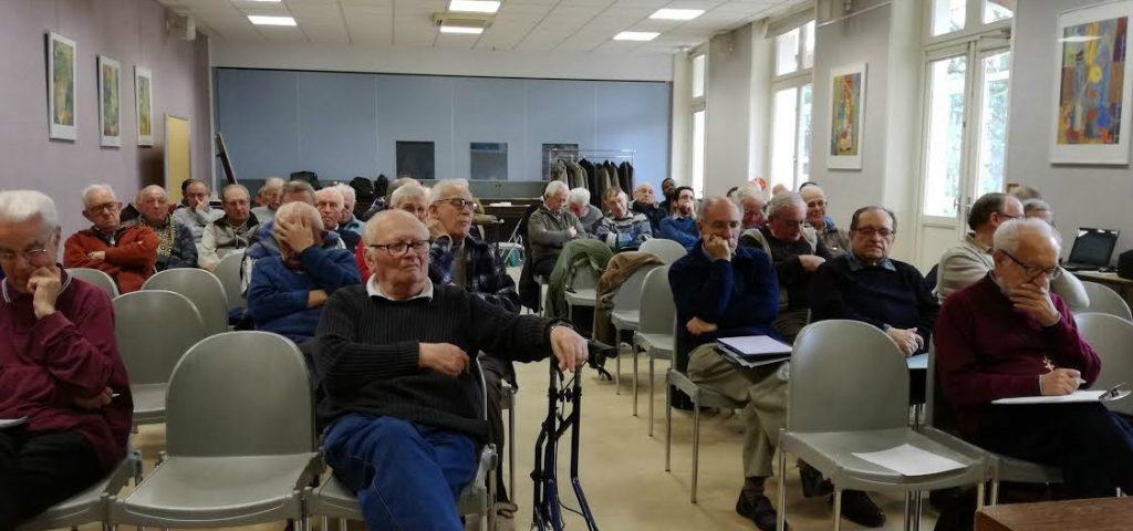 Assemblée française des Fils de la Charité en France, mars 2017