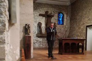 Inauguration du chapelet des réfugiés à La Courneuve le 24 mars 2017