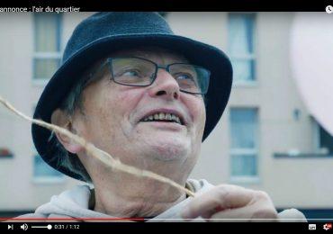 """A la Chasse Royale, René Lelièvre fc dans le court-métrage """"L'air du quartier"""" de Boris Diéval au #Festival2cinéma de Valenciennes 2017."""