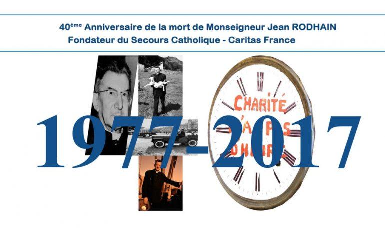40 ans de la Cité Saint-Pierre à Lourdes, fondée par Jean Rodhain