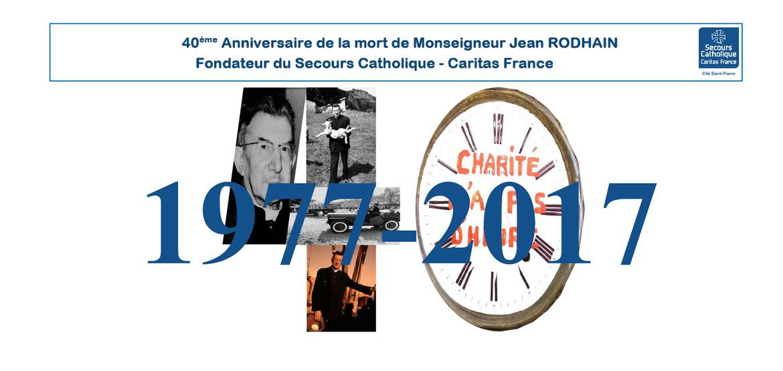 40 ans du décès de Jean Rodhain, à la Cité Saint-Pierre, à Lourdes