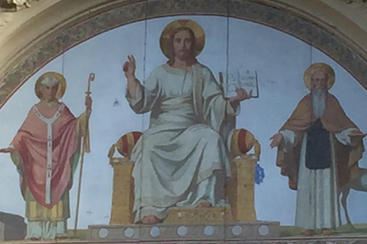 Jésus est l'alpha et l'oméga