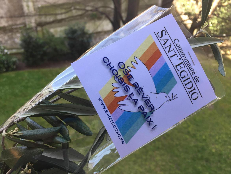Le dimanche des Rameaux, Sant'Egidio apporte un signe de paix dans les rues des villes du monde #PalmSunday