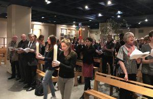 Veillée œcuménique de prière Sant'Egidio, au lendemain des attentats contre les chrétiens d'Egypte le 10 avril 2017