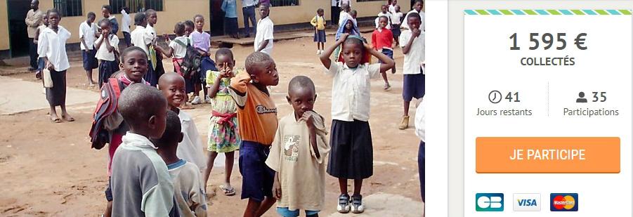 Cagnotte pour le chantier de travail à Brazzaville été 2017