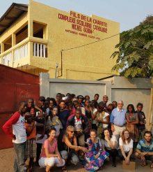 Reportage photos du chantier jeunes été 2017 à Brazzaville