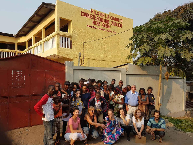 Chantier de travail été 2017 au Congo Brazzaville