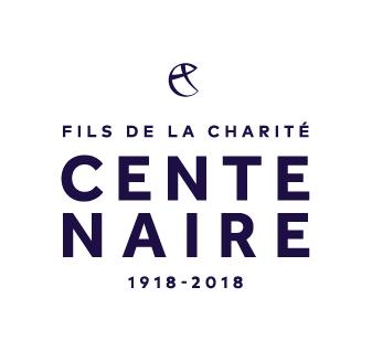 Logo du centenaire de la congrégation religieuse des Fils de la Charité