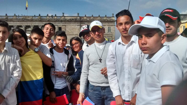 Visite du Pape François à Bogotá en septembre 2017
