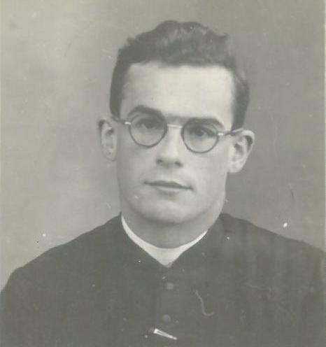 Pierre Thomas fc, séminariste © Les Fils de la Charité