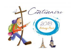 La marche des jeunes du centenaire de la congrégation religieuse 2018-2019