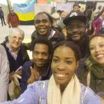 Anniversaire JOC 1927-2017, avec les jeunes de La Courneuve en avril 2017