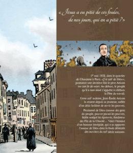 """Couverture de la Bande Dessinée """"La Soif de Dieu, une vie du père Anizan"""", BD 2017"""