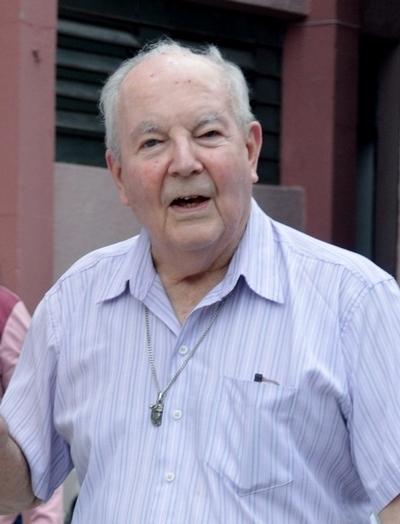 Joseph Mahon fc, le jour de son anniversaire au Brésil © Fils de la Charité