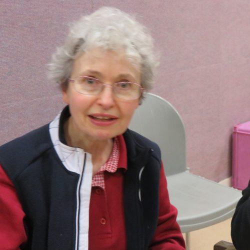 Marie-Catherine Cloarec, Assemblée générale de la Fraternité Anizan (février 2018) © Hélène Négrini