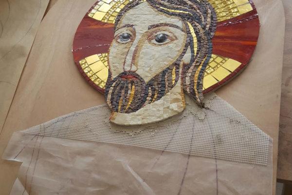 Une mosaïque en souvenir du centenaire de la Fondation de la Congrégation © Betsaleel Sr Samuelle Mesnil Saint-Loup