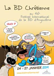 Affiche du Festival de la BD chrétienne Angoulême 2019
