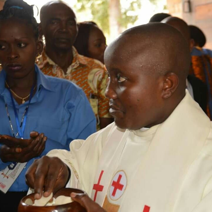Ordination de Serge Mavungu fc Crédit Asla Alingba