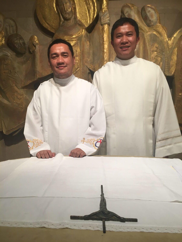 Professions perpétuelles et ordinations dans la communauté des Fils de la Charité