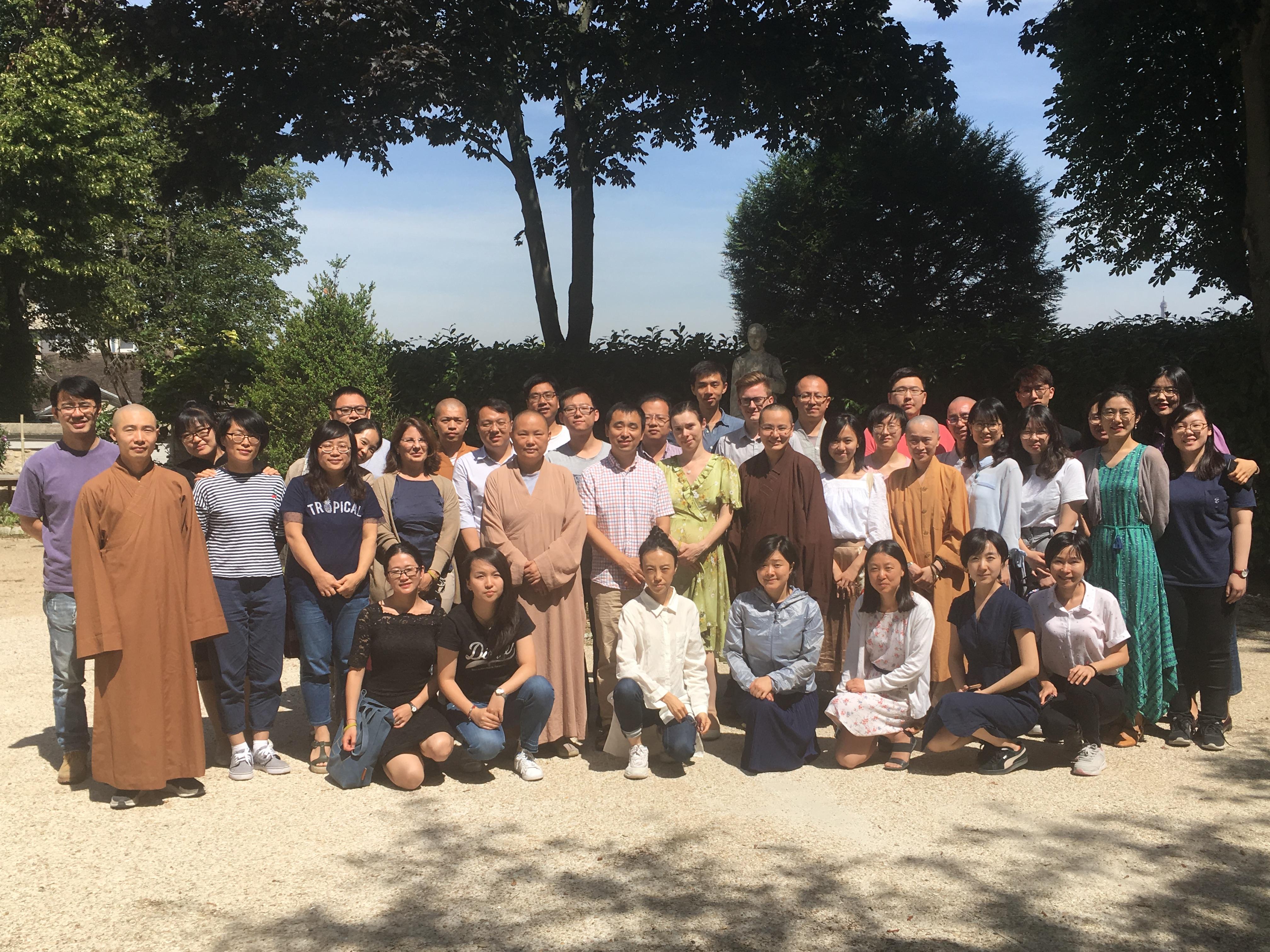 Séminaire sur le Bouddhisme juillet 2019 Etudiants UBC © Inma Gutiérrez-Feliz
