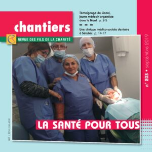 Chantiers n°203 Couverture